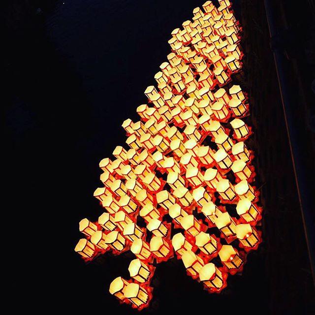 [Photo] 市川真間の灯籠流し。  #リコーGR #GR #GR2 #リコー